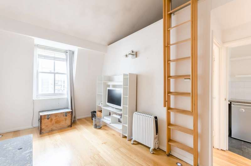 1 Bedroom Flat for sale in Cleveland Street, Marylebone, W1T