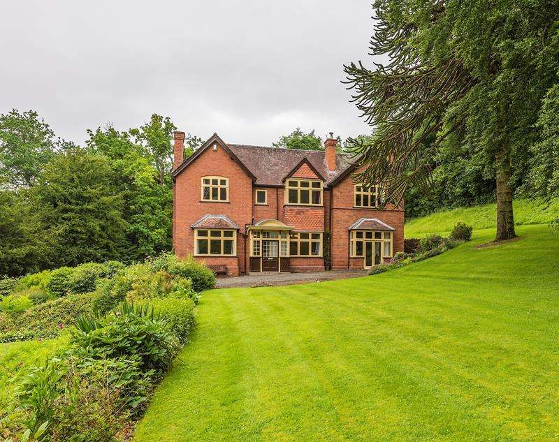 5 Bedrooms Detached House for sale in The Conigree, Worcester Road, Ledbury, Herefordshire