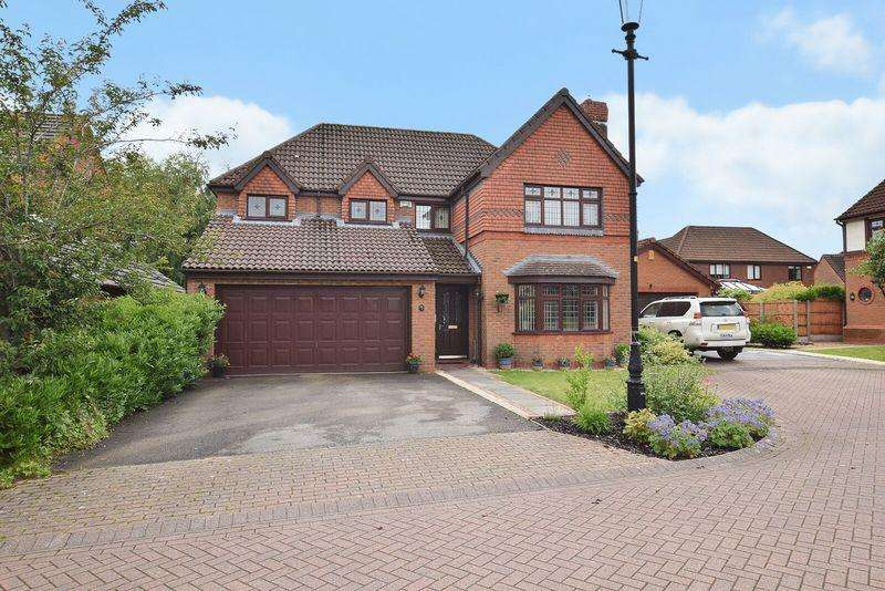 4 Bedrooms Detached House for sale in Sandalwood, Runcorn