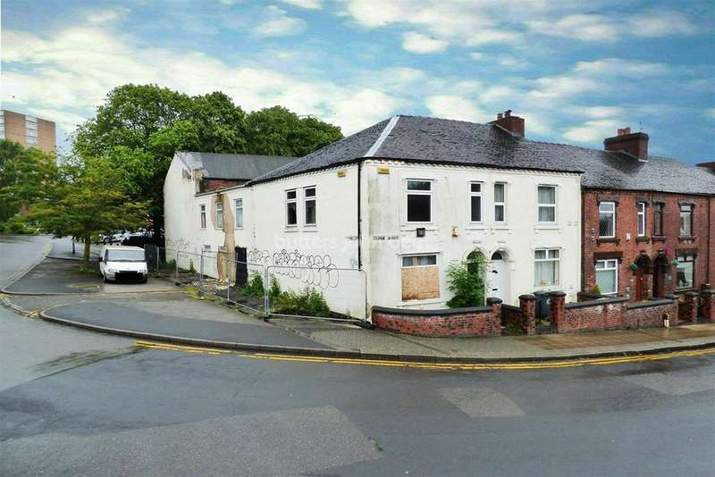 3 Bedrooms End Of Terrace House for sale in Gilman Street, Hanley, Stoke On Trent, ST1 3PL