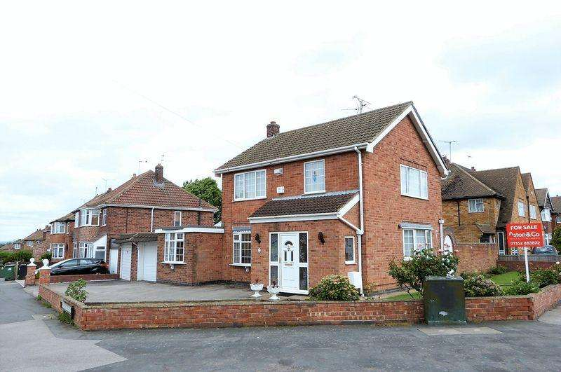 3 Bedrooms Detached House for sale in Chellaston Road, Wigston