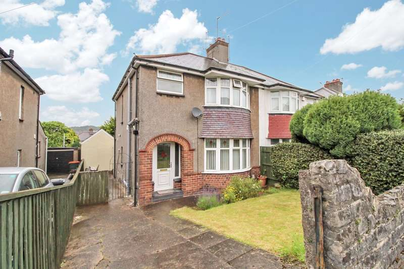 3 Bedrooms Semi Detached House for sale in Badminton Road, Newport, NP19
