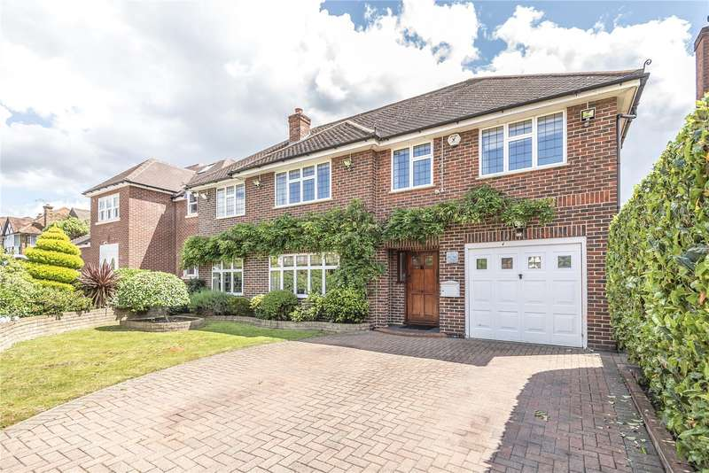 5 Bedrooms Detached House for sale in Highfield Drive, Ickenham, Uxbridge, UB10