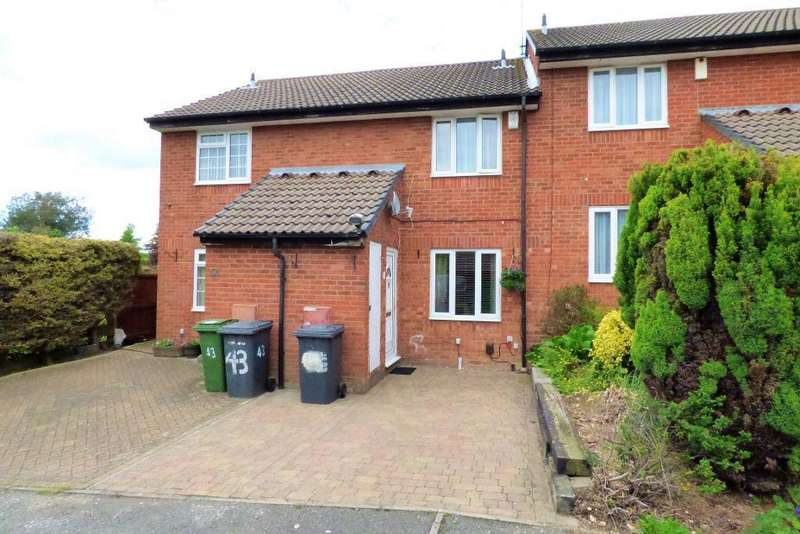 2 Bedrooms Terraced House for rent in Heron Drive, Bushmead, Luton, LU2 7LZ