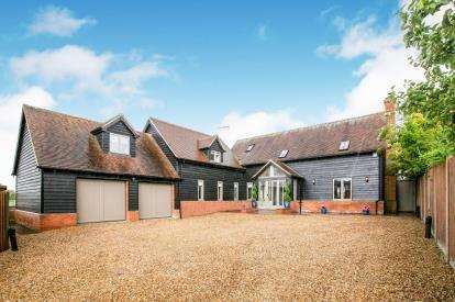 5 Bedrooms Detached House for sale in Caldecote Green, Upper Caldecote, Biggleswade, Bedfordshire