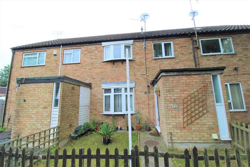3 Bedrooms Terraced House for sale in St. Ives Close, Luton