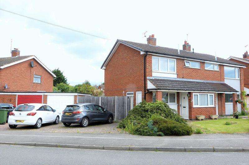 3 Bedrooms Semi Detached House for sale in Holyrood Drive, Countesthorpe