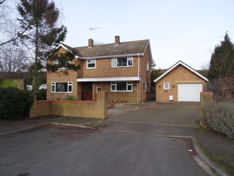 3 Bedrooms Detached House for sale in BEECH AVENUE, OLNEY