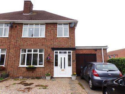3 Bedrooms Semi Detached House for sale in Cork Lane, Glen Parva, Leicester, Leicestershire