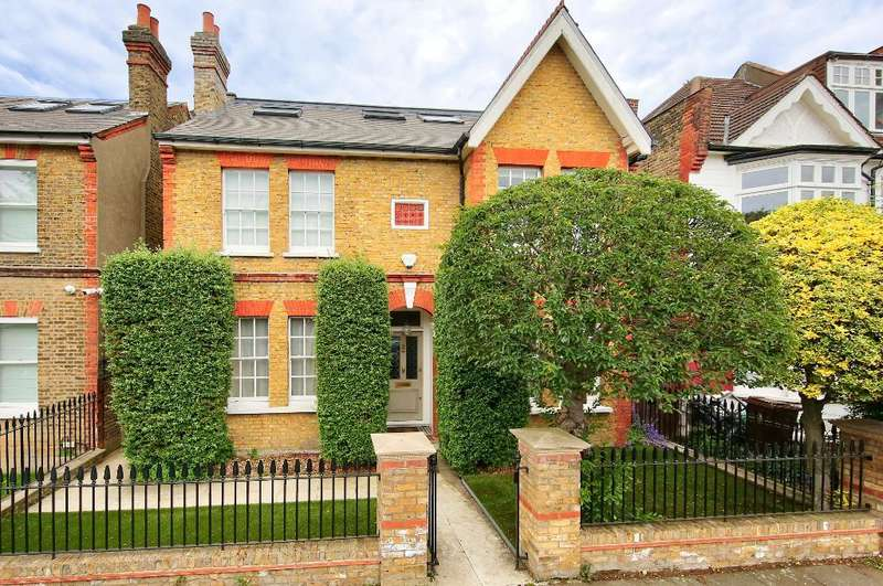 5 Bedrooms Detached House for sale in Home Park Road, Wimbledon, SW19 7HN
