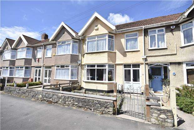 3 Bedrooms Terraced House for sale in Hendre Road, Ashton, Bristol, BS3 2LP