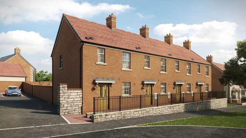 2 Bedrooms Terraced House for sale in Bevans Lane, Pontrhydyrun