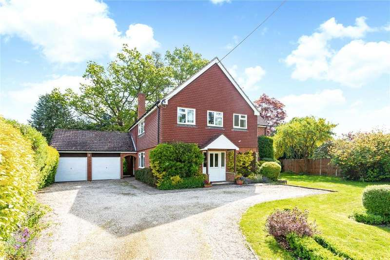 4 Bedrooms Detached House for sale in Hermitage Road, Cold Ash, Thatcham, Berkshire, RG18