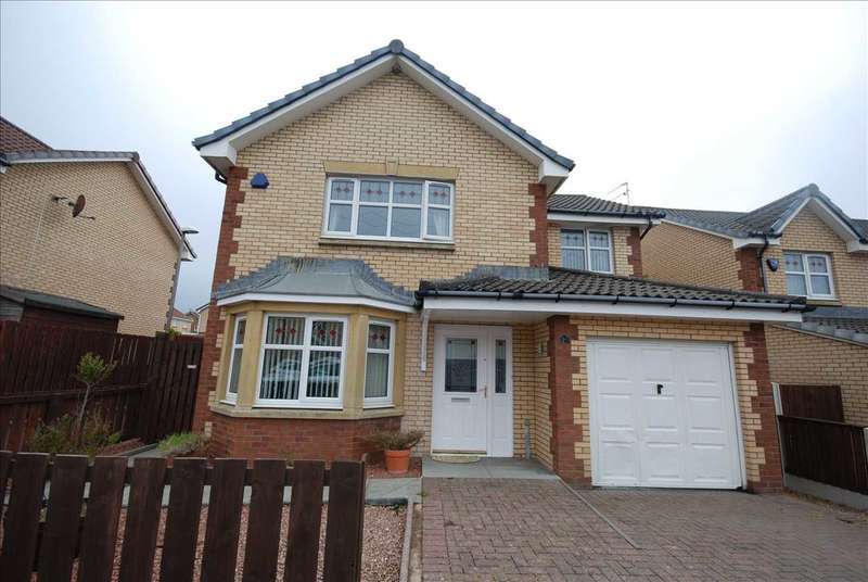 4 Bedrooms Detached House for sale in Hilton Court, Saltcoats