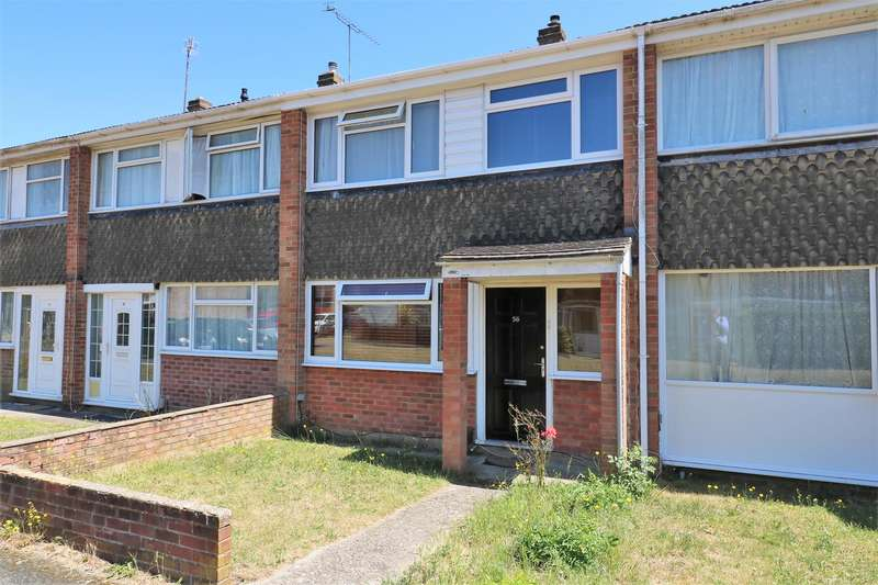 3 Bedrooms Terraced House for sale in Combe Road, Tilehurst, Reading