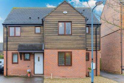 4 Bedrooms Detached House for sale in Chasewater Crescent, Broughton, Milton Keynes, Bucks