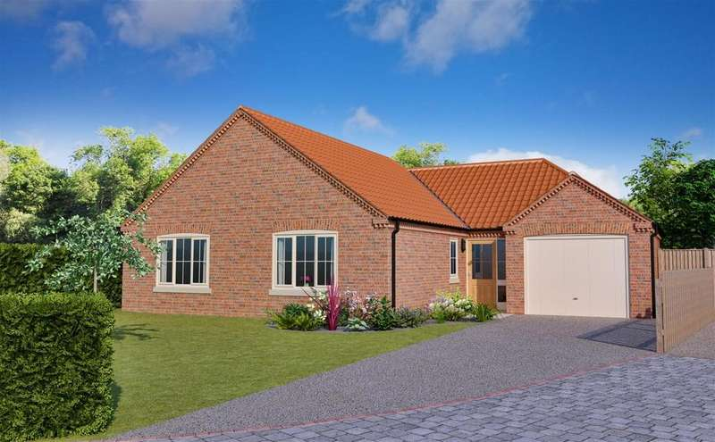 3 Bedrooms Detached Bungalow for sale in Blackthorn Lane, Off Stanhope Road, Horncastle, LN9 5EL