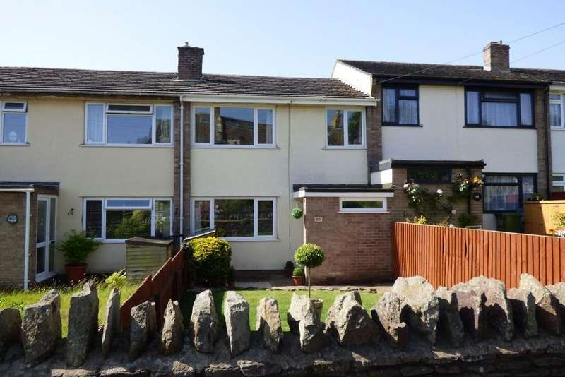 3 Bedrooms Terraced House for sale in Down Road, Winterbourne Down