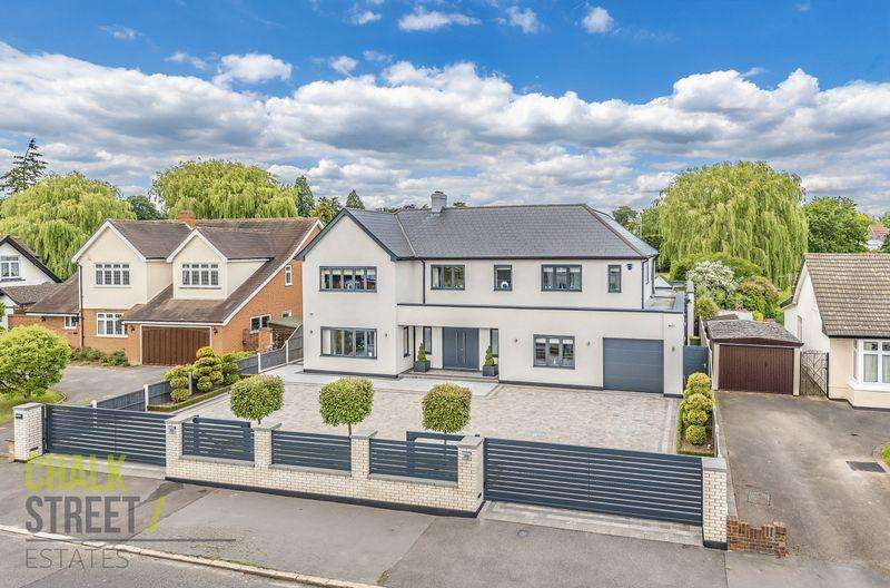 6 Bedrooms Detached House for sale in Parkstone Avenue, Emerson Park, Hornchurch, RM11