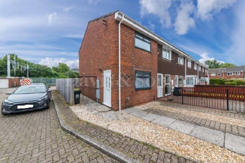 2 Bedrooms End Of Terrace House for sale in Armstrong Close, Lliswerry, Newport. NP19 4SG