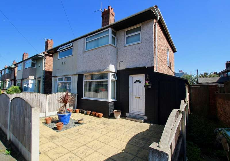 2 Bedrooms Semi Detached House for sale in Parker Avenue, Seaforth, Liverpool, L21