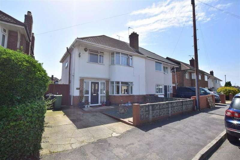 3 Bedrooms Semi Detached House for sale in Kingscroft Road, Hucclecote, Gloucester