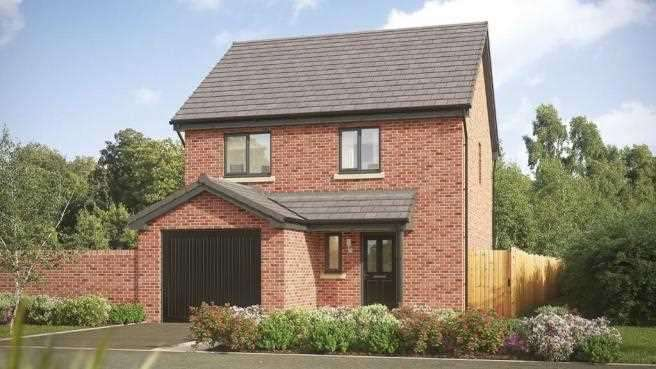 3 Bedrooms Detached House for sale in The Liveley A, Shawbrook Manor, Leyland Lane, Leyland