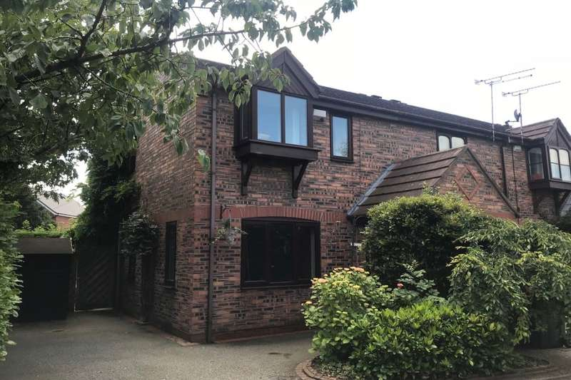 3 Bedrooms Semi Detached House for sale in Tricketts Mews, Willaston, Nantwich, CW5