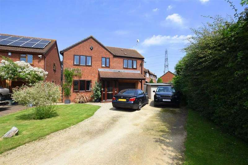 4 Bedrooms Detached House for sale in Sheevaun Close, Longlevens, Gloucester, GL2 0XQ