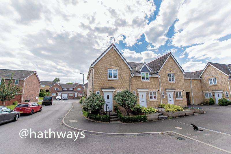 2 Bedrooms End Of Terrace House for sale in Grayson Way, Llantarnam