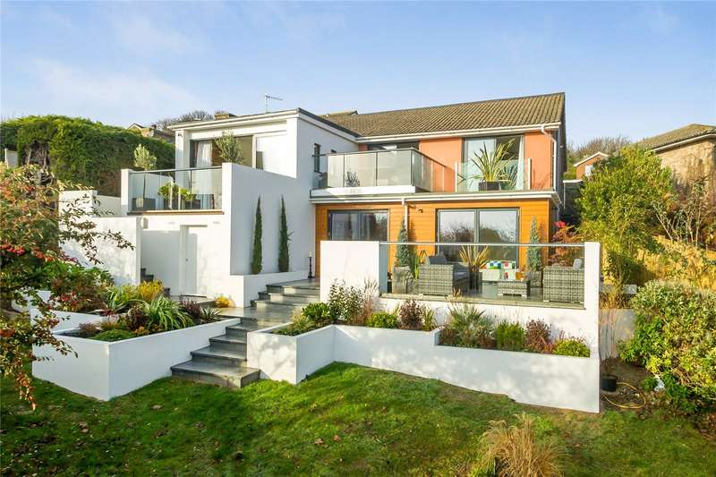 4 Bedrooms Detached House for sale in Wanderdown Way, Ovingdean, Brighton, East Sussex, BN2