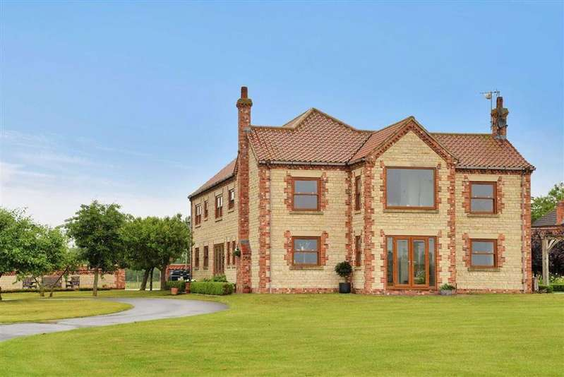 4 Bedrooms Detached House for sale in Black Bank, Susworth, Scunthorpe, Lincolnshire