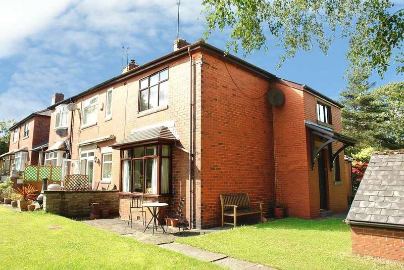 2 Bedrooms Semi Detached House for sale in Cragg Road, Chaddertonn