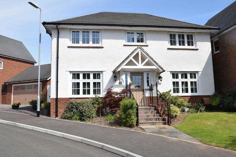 4 Bedrooms Detached House for sale in Coed Y Felin, Pontypool