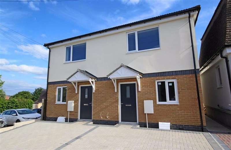 2 Bedrooms Semi Detached House for sale in Queens Road, Central, Tewkesbury, Gloucestershire
