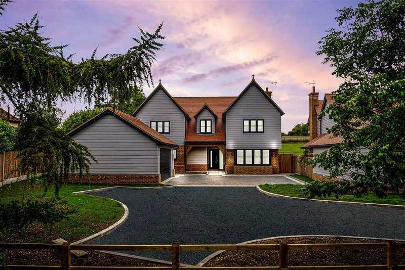 5 Bedrooms Detached House for sale in The Meadows, Hare Street