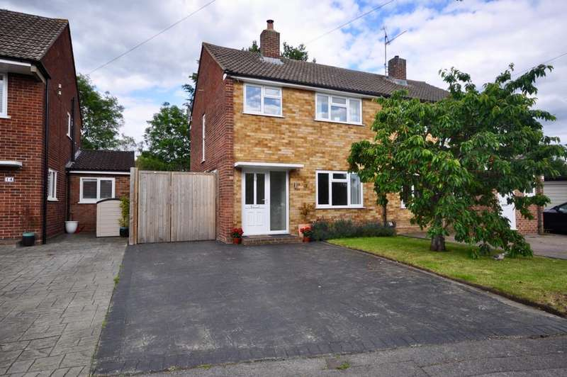 3 Bedrooms Semi Detached House for sale in Rochester Avenue, Woodley, Reading, RG5 4NA
