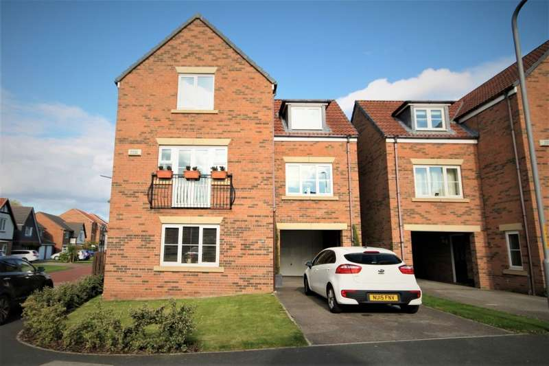 4 Bedrooms Detached House for sale in Chivers Court, Stockton-On-Tees, TS18