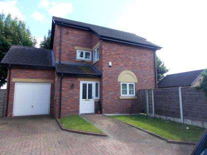 4 Bedrooms Detached House for sale in The Weint, Rixton, Warrington, Cheshire