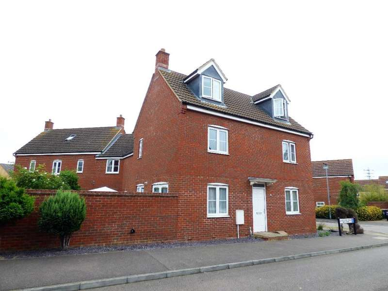 4 Bedrooms Detached House for sale in Langlands Road, Bedford, MK41 0GE
