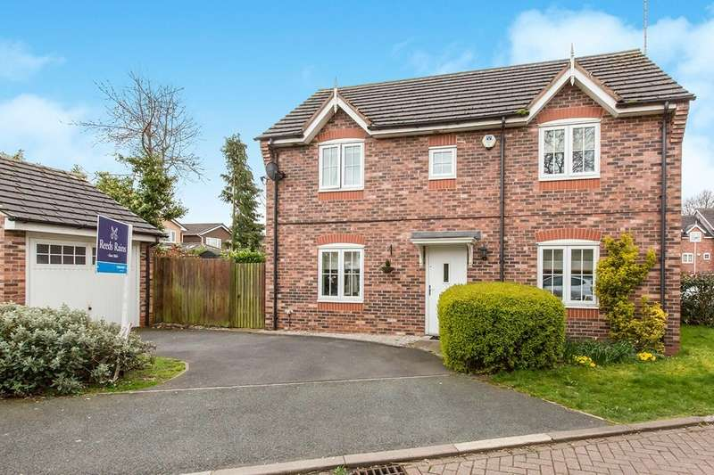 3 Bedrooms Semi Detached House for sale in Crompton Close, Congleton, Cheshire, CW12