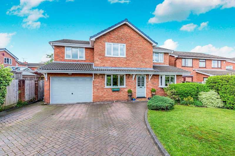 5 Bedrooms Detached House for sale in Glastonbury Drive, Middlewich, Cheshire, CW10