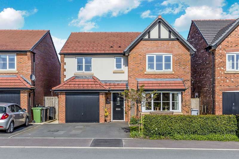 4 Bedrooms Detached House for sale in Dee Avenue, Holmes Chapel, Crewe, CW4