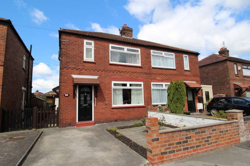 2 Bedrooms Semi Detached House for sale in Dalkeith Road, South Reddish, Stockport, Cheshire, SK5
