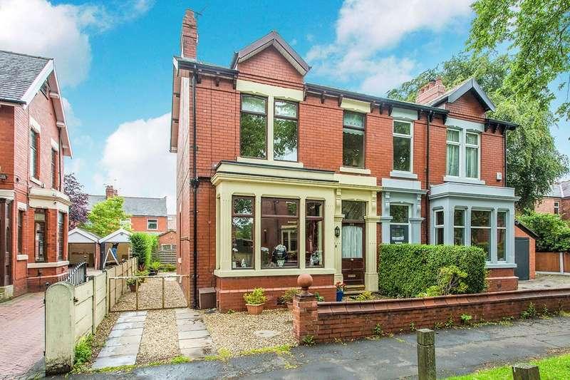 4 Bedrooms Semi Detached House for sale in Watling Street Road, Fulwood, Preston, PR2