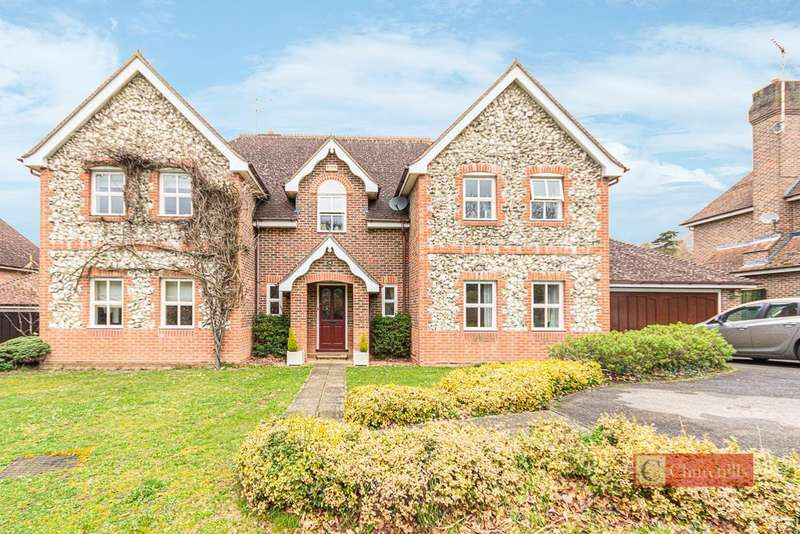 5 Bedrooms Detached House for sale in Woodville Place, Hertford