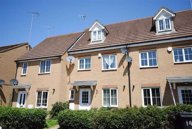 4 Bedrooms Terraced House for sale in Johnson Drive, Leighton Buzzard