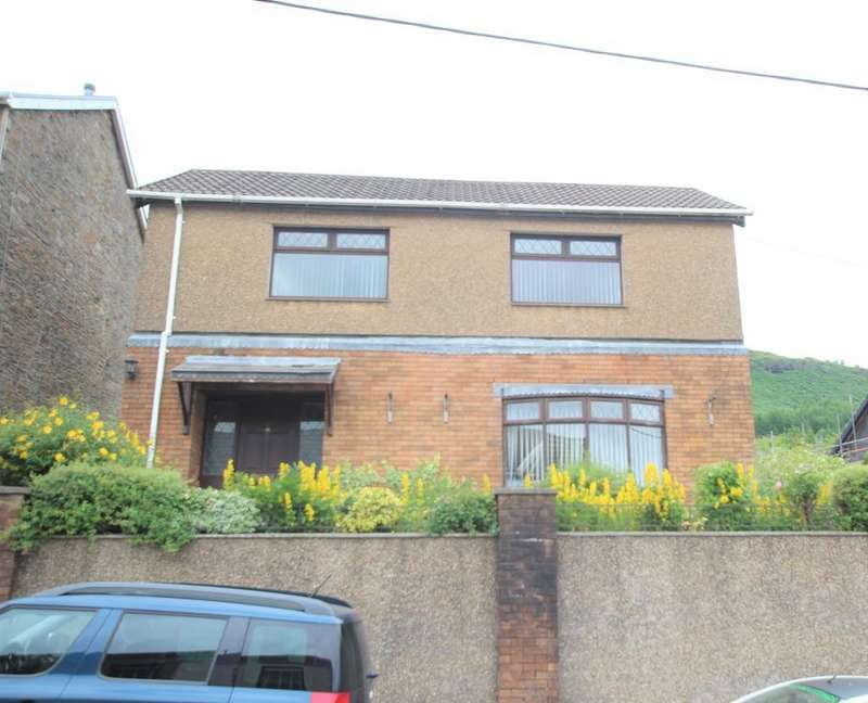 3 Bedrooms Detached House for sale in Llanwonno Road, Mountain Ash