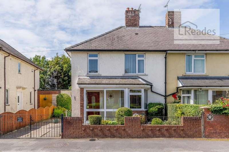 3 Bedrooms Semi Detached House for sale in Chevrons Road, Shotton CH5 1