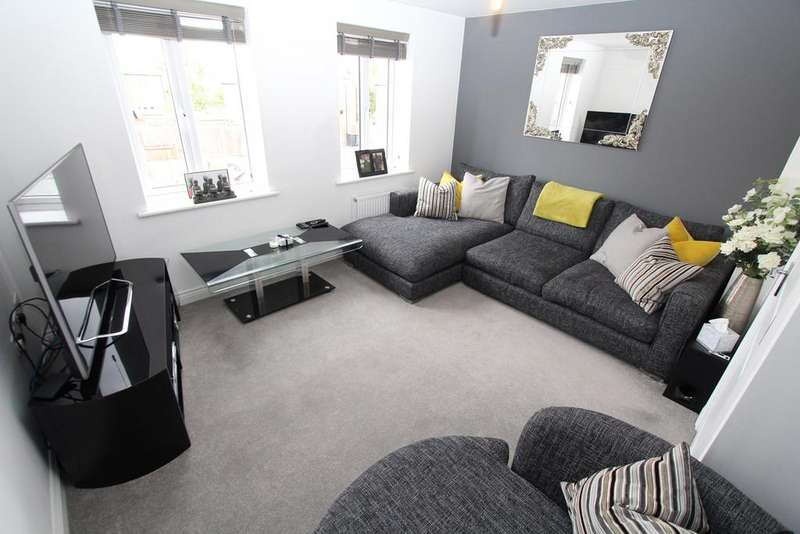 4 Bedrooms Town House for sale in Wilkinson Road, Kempston, Bedford, MK42